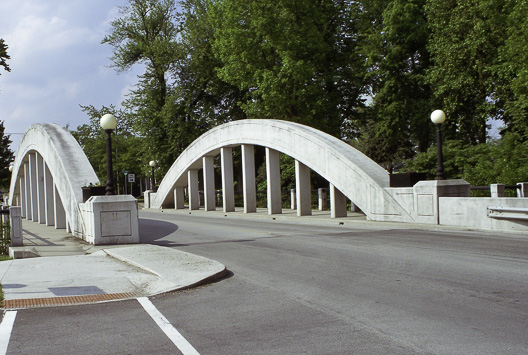 Bowstring Truss Bridge